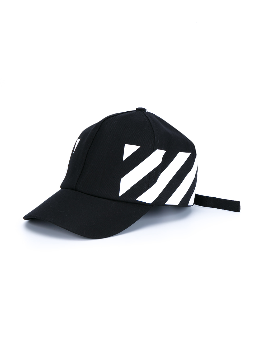 Off White Spring Summer 2017 Women S Collection: Off-White C/O Virgil Abloh Baseball Cap With Stripe