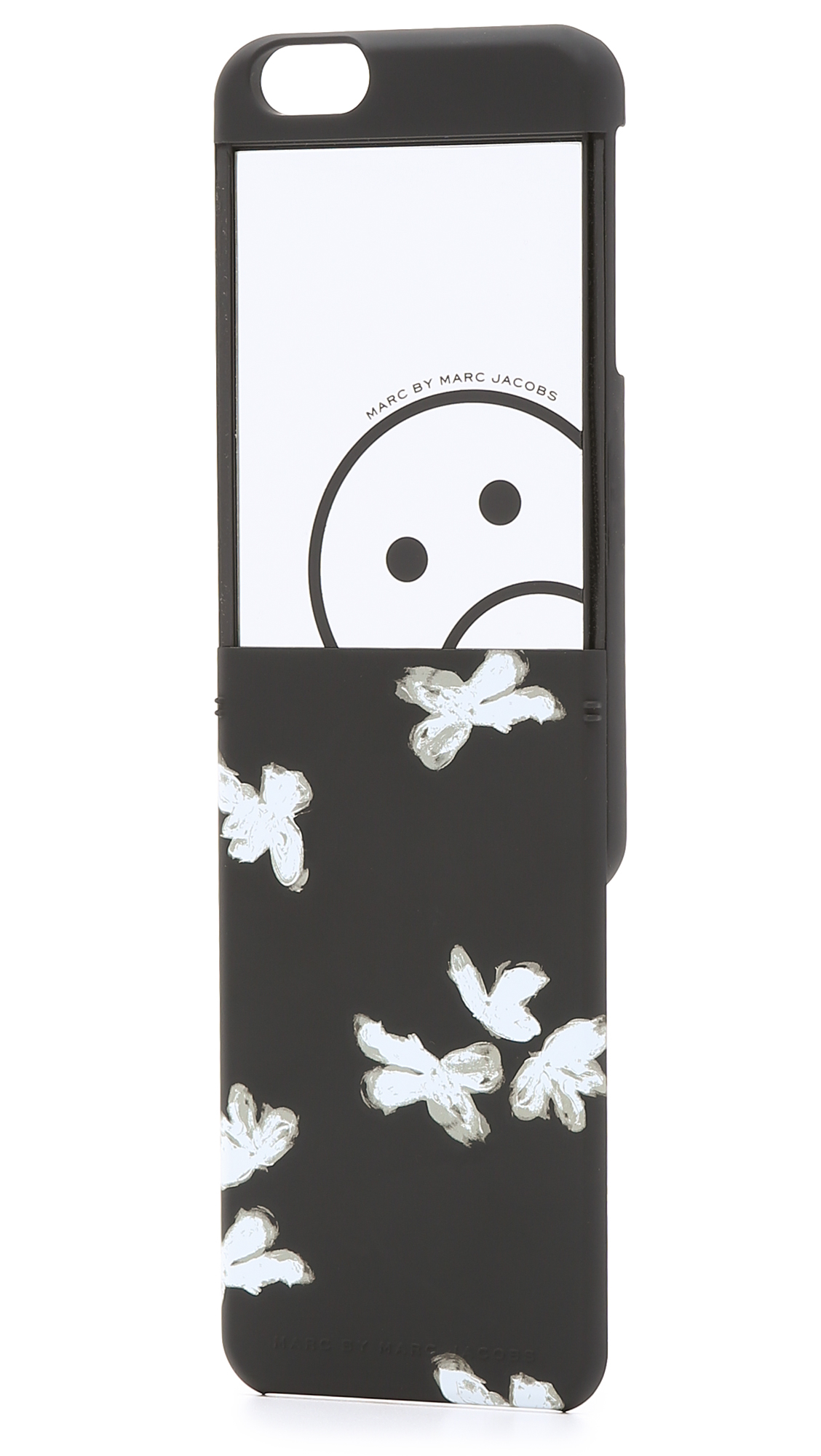 marc by marc jacobs mirror iphone 6 case white multi in. Black Bedroom Furniture Sets. Home Design Ideas