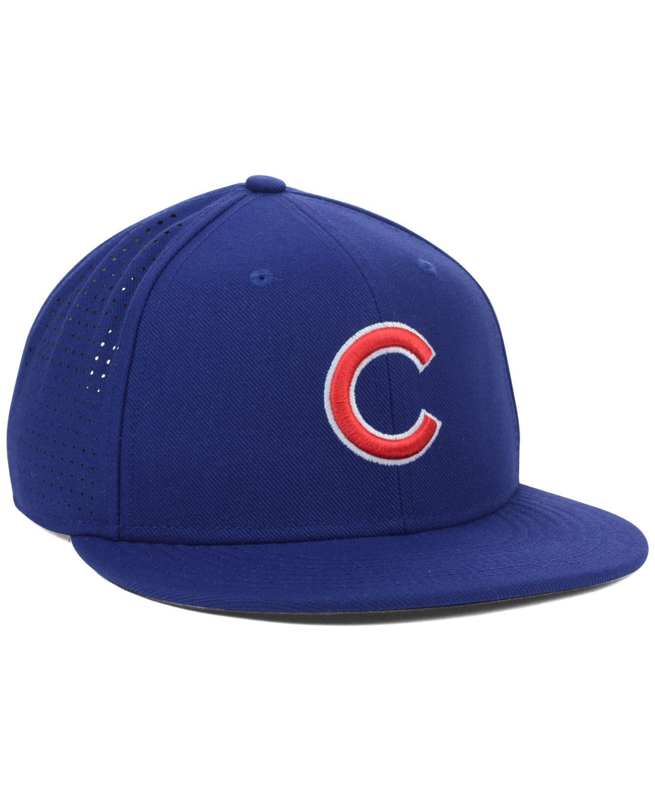 a53d5c1669a5e ... coupon for lyst nike chicago cubs dri fit vapor adjustable cap in blue  for men d184c