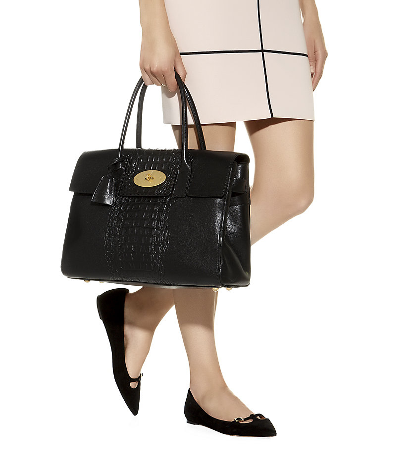 ... croc print small bayswater satchel black 74444 66a72 51d5a  aliexpress  gallery. previously sold at harrods womens mulberry bayswater 7c963 54556 c5199a6d57e71