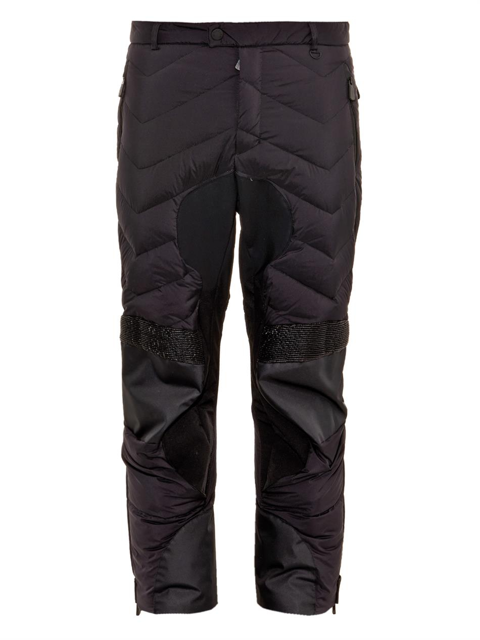 bac58a7f11 Lyst - Moncler Grenoble Quilted Ski Trousers in Black for Men