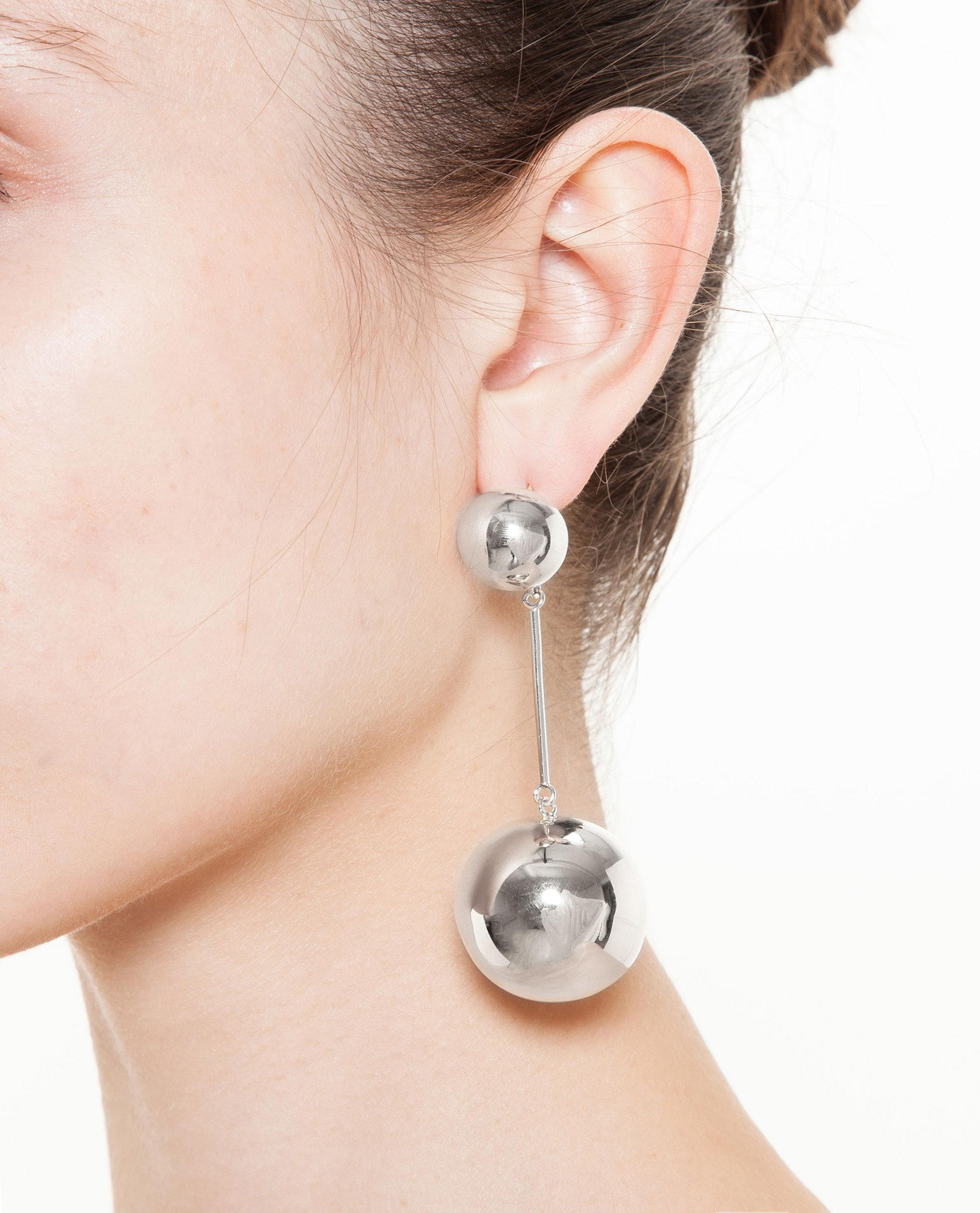 J.W.Anderson Sphere Gold-tone Earrings baiK1