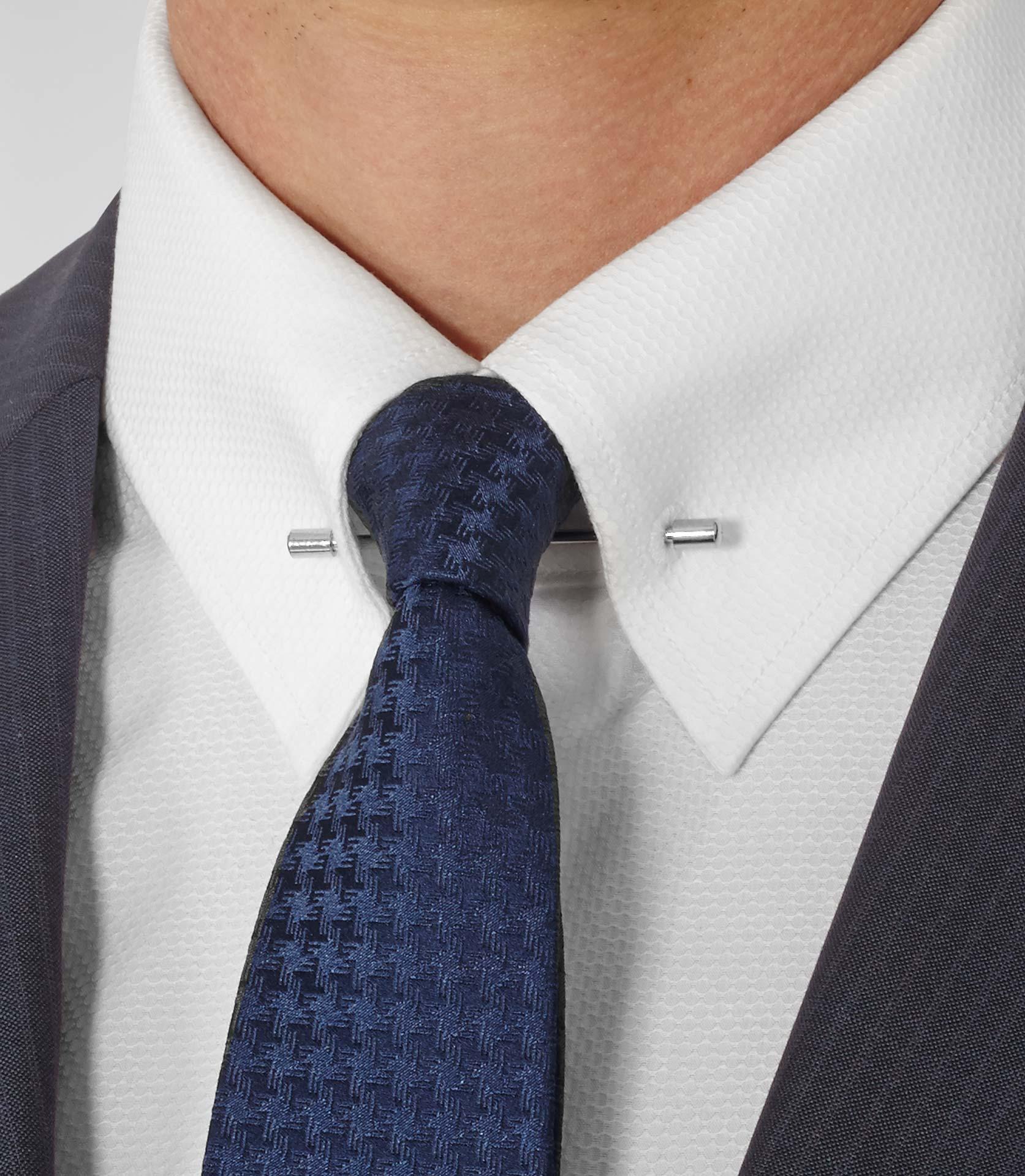 Reiss Cipriani Collar Bar Shirt In White For Men Lyst