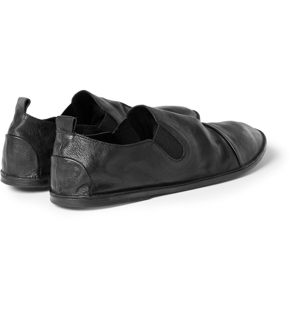 Verbilligte Aus Deutschland Günstig Online Washed-leather Loafers - Black Marsèll Online-Shopping Hohe Qualität Angebote Günstig Online Werksverkauf wXS4vrT