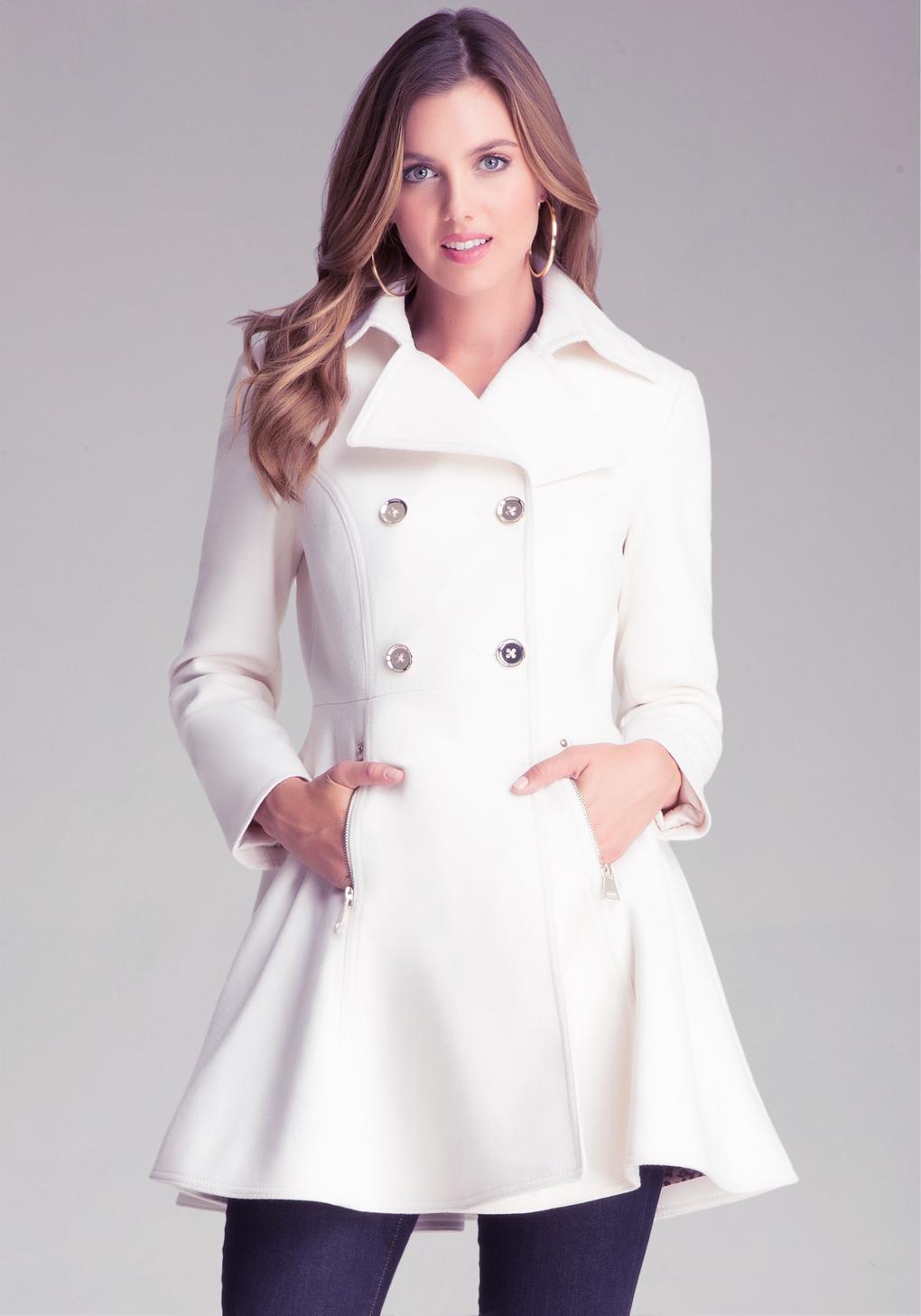 Wool Flared Coat Fashion Women S Coat 2017