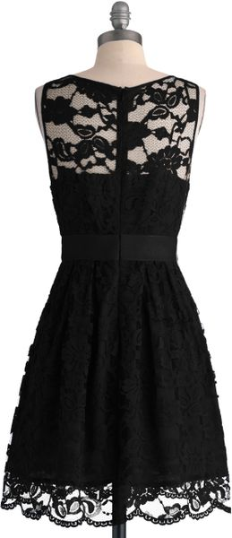 Modcloth When The Night Comes Dress in Black