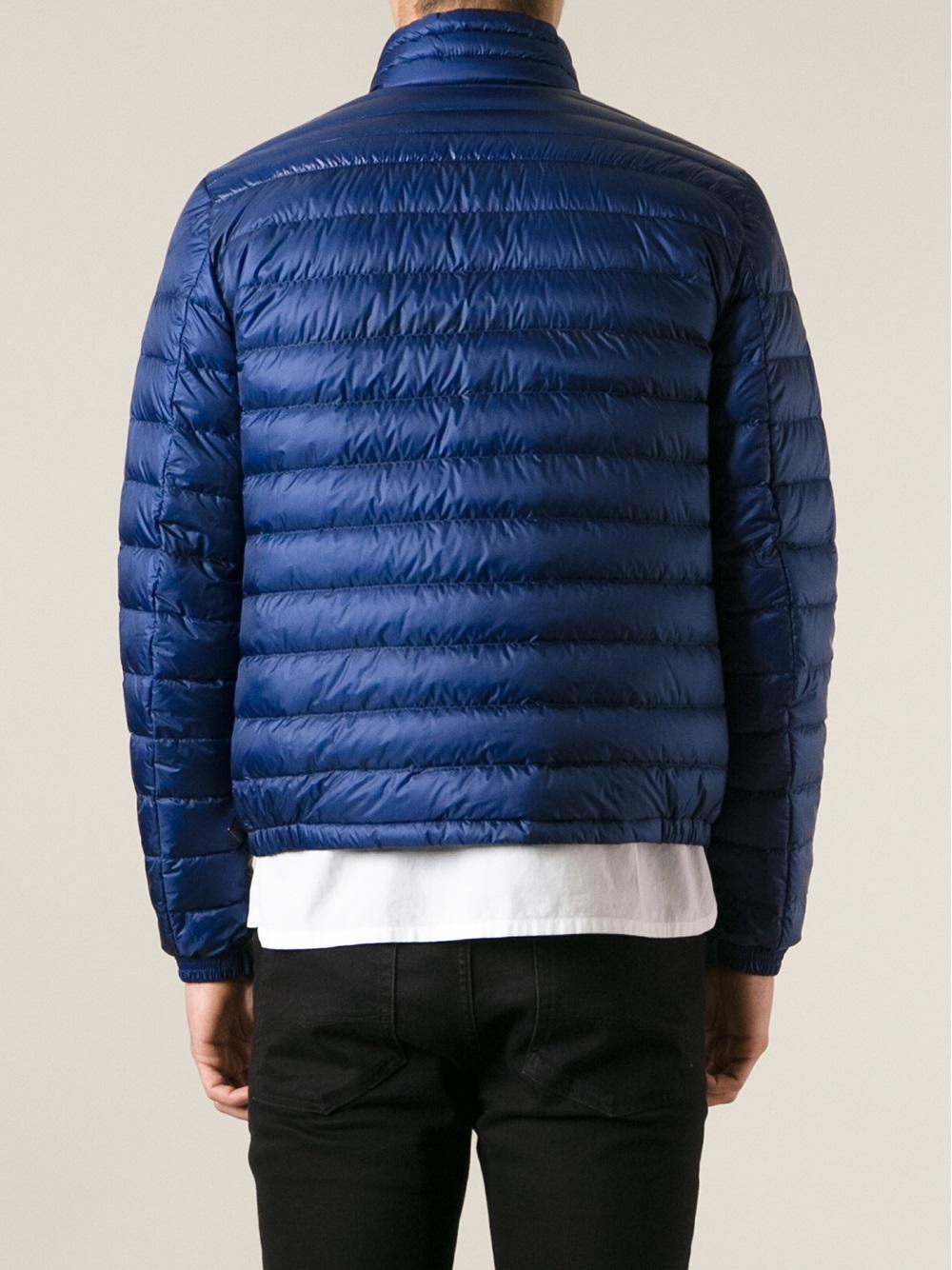 Lyst Moncler Daniel Down Jacket In Blue For Men
