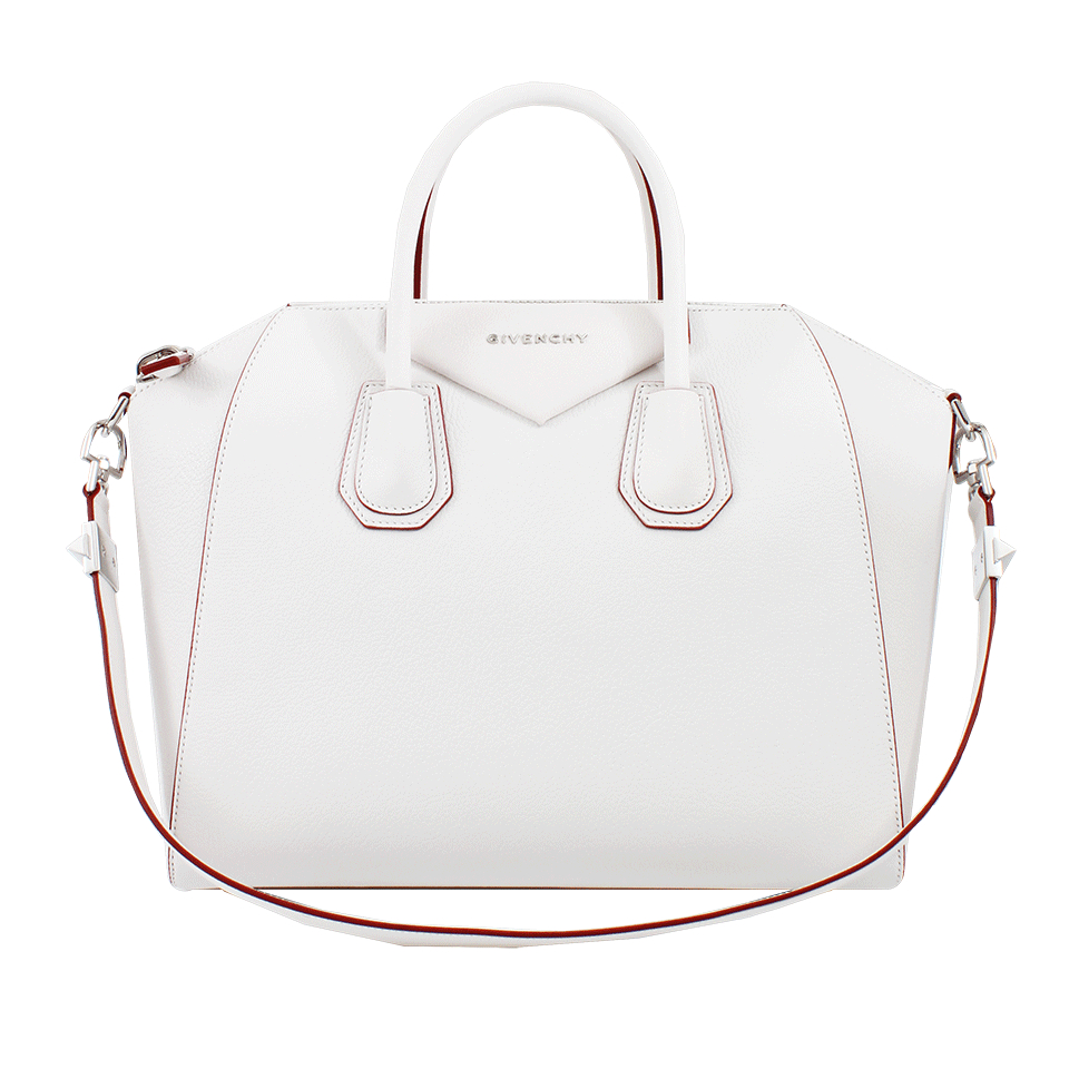 Lyst - Givenchy Medium Antigona Bag in White 7a9aaa06ab454