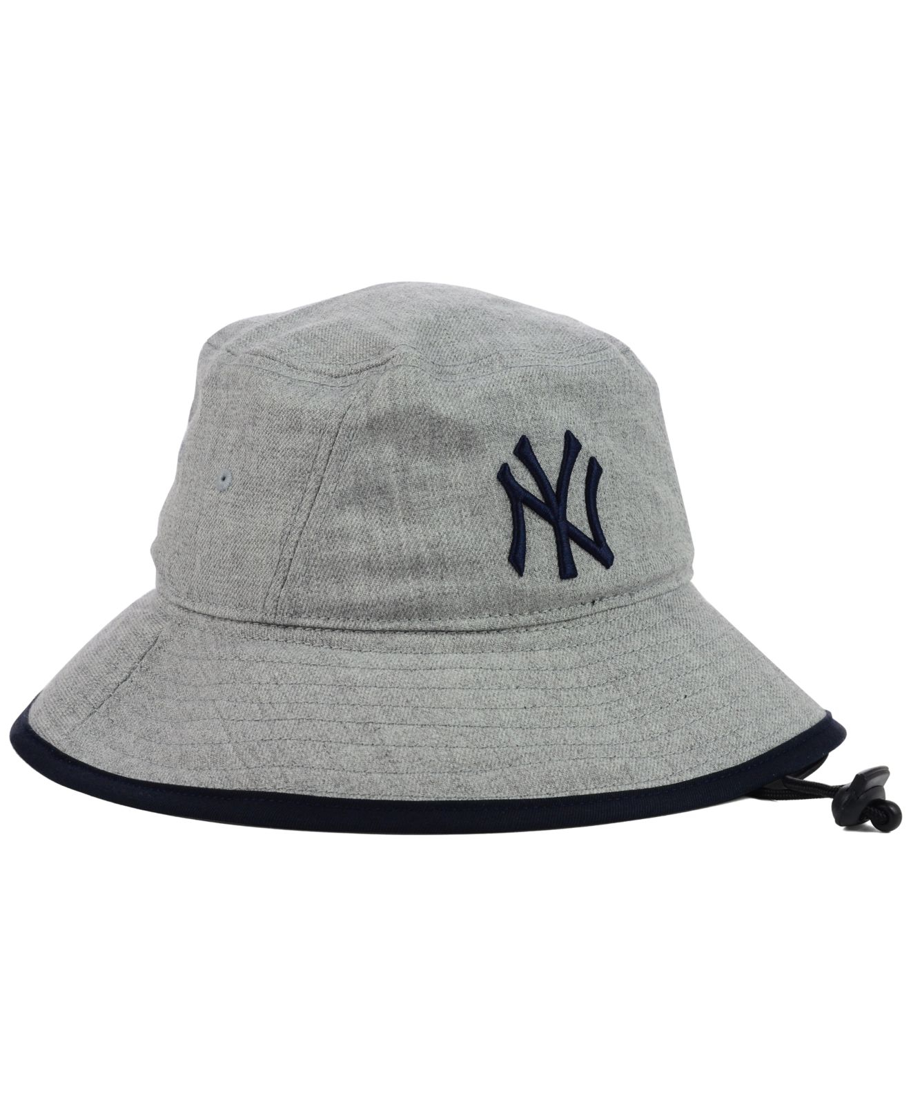 01f0ebd2d3272 ... inexpensive lyst ktz new york yankees heather tipped bucket hat in gray  for men 7f301 5595a
