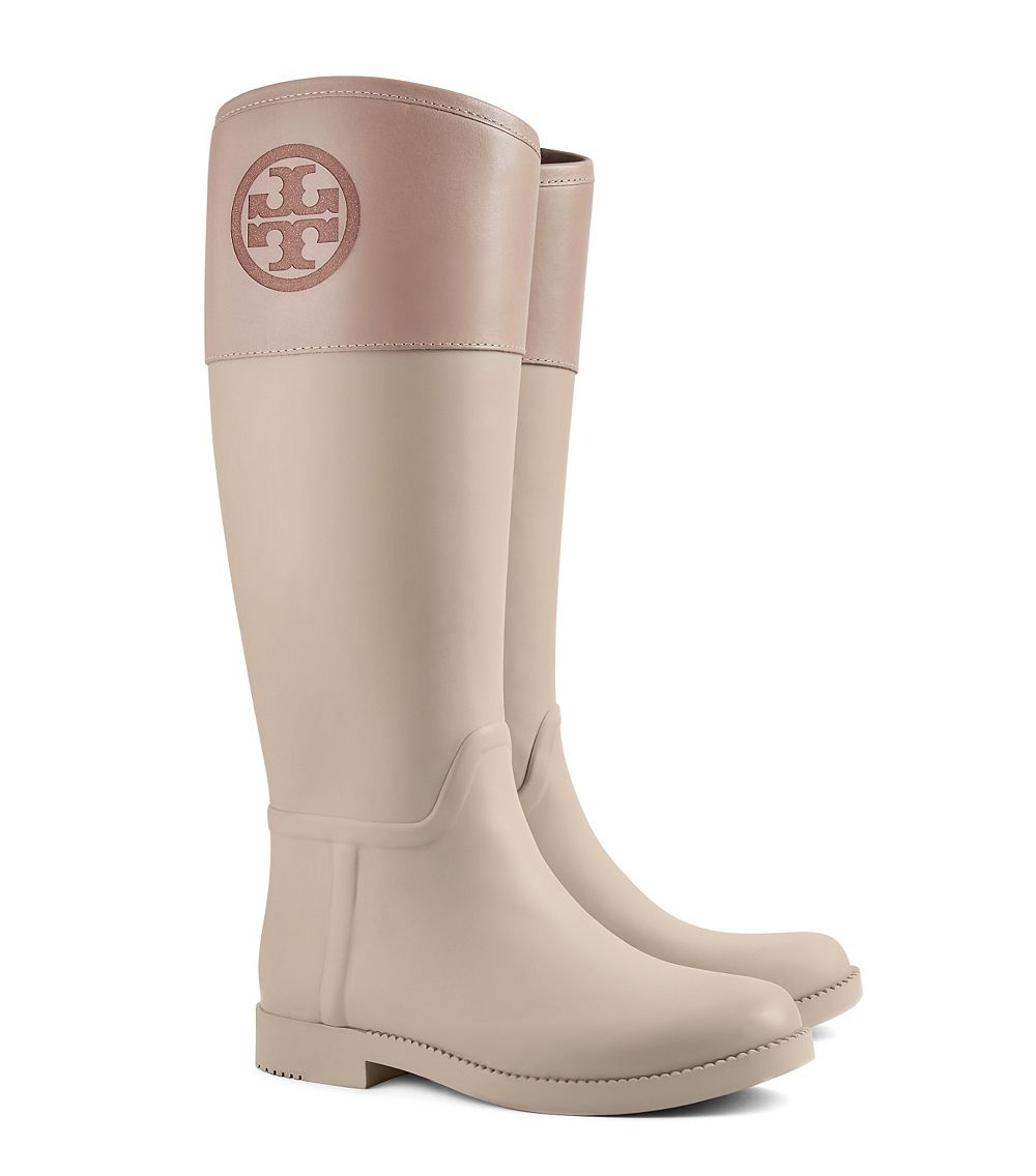 e7bc0718c62 Lyst - Tory Burch Classic Rainboot in Natural