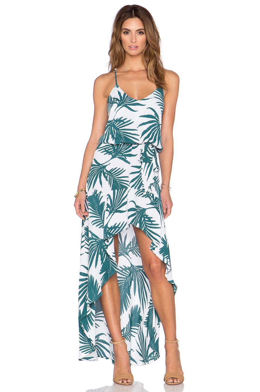 3280e446d1 Karina Grimaldi Alma Maxi Dress in Green - Lyst
