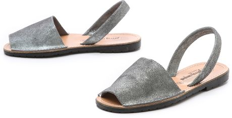 14cb731408a33 Jeffrey Campbell Ibiza Slingback Sandals in Gray (Pewter)