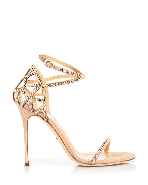 Strappy Stiletto High Heels