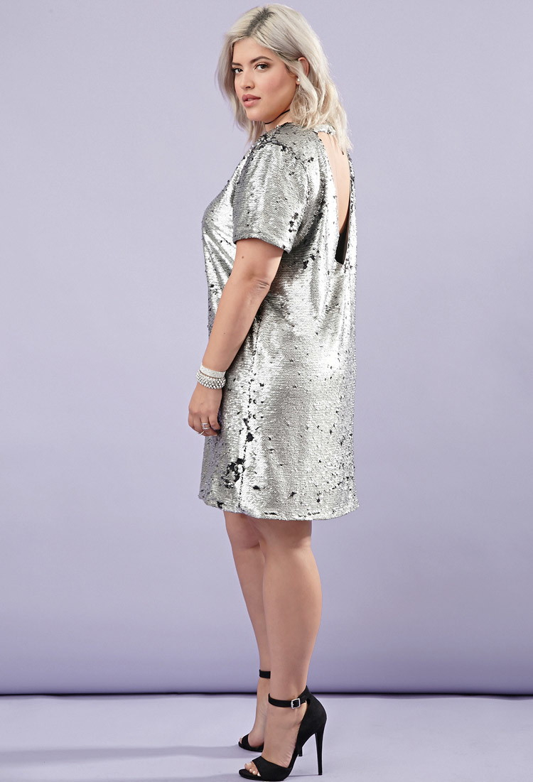 Size Plus sequin dress forever 21 pictures