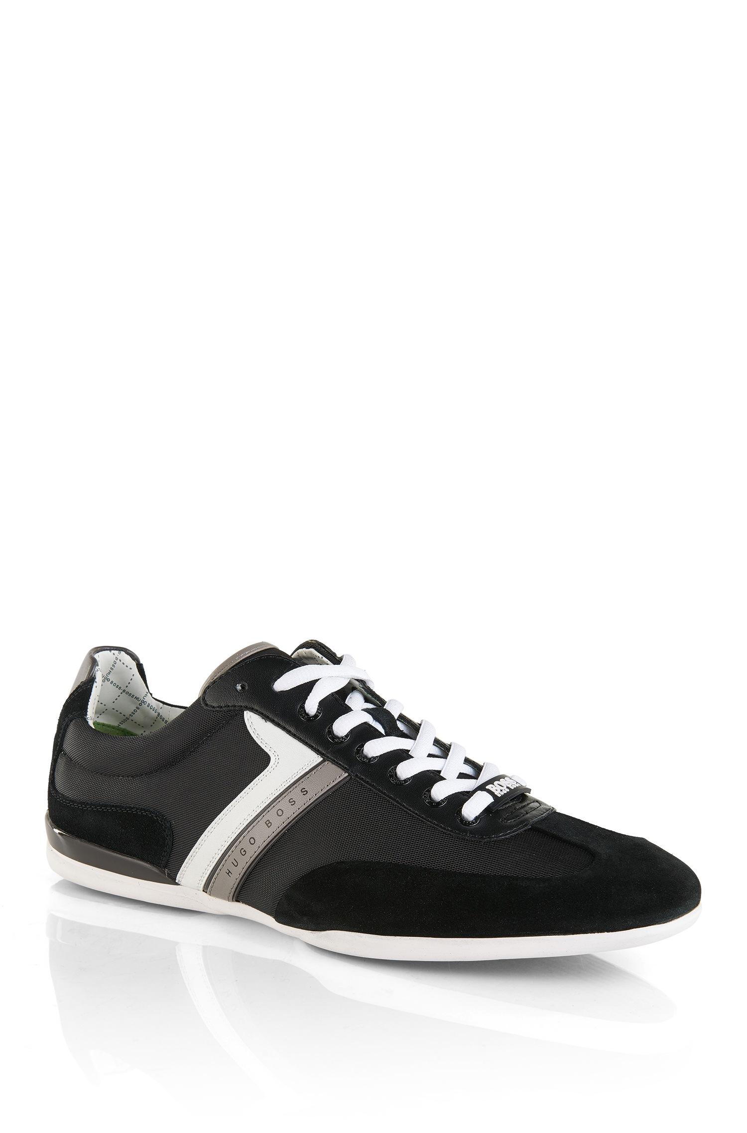 Versace Shoes Eros Black Suede