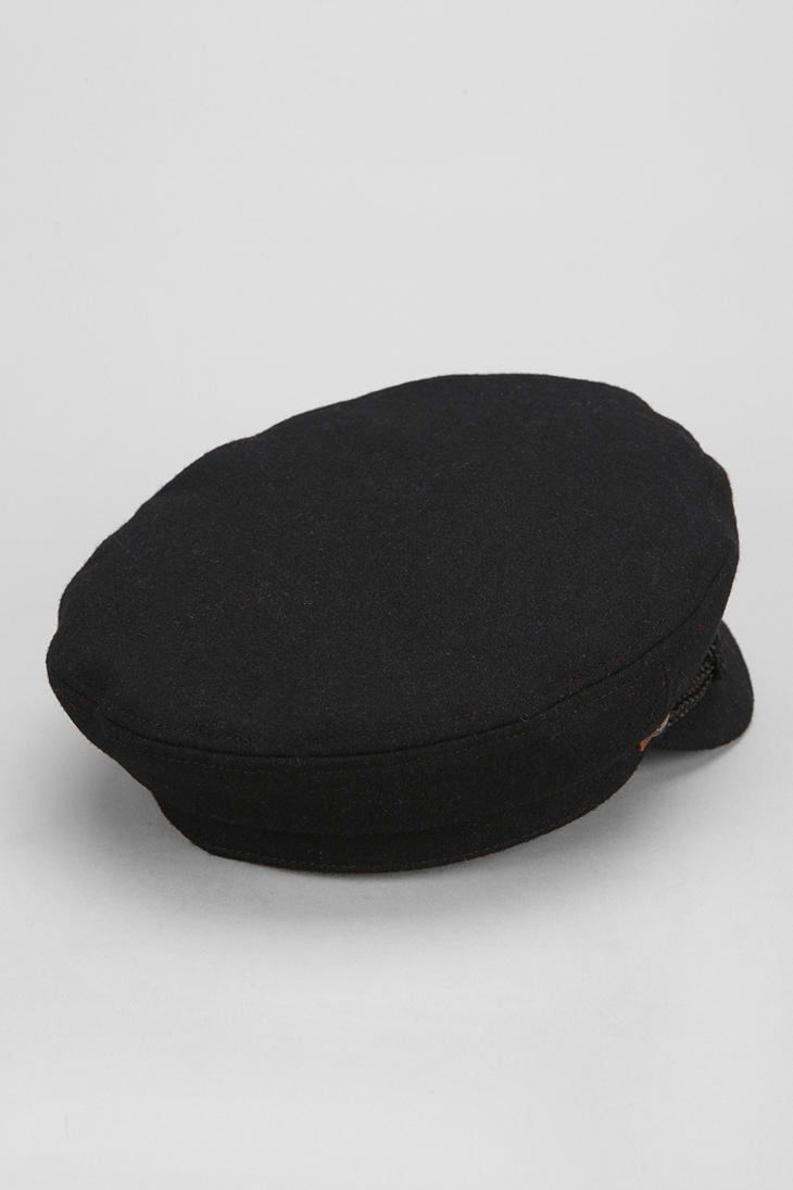 64c8ffd7b3b9b Urban Outfitters Brixton Fiddler Fisherman Cap in Black for Men - Lyst