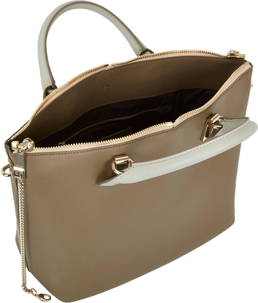 Chlo¨¦ Medium Baylee Bag in Brown (pearl) | Lyst