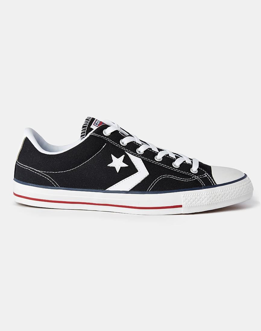 Black Cons School Shoes