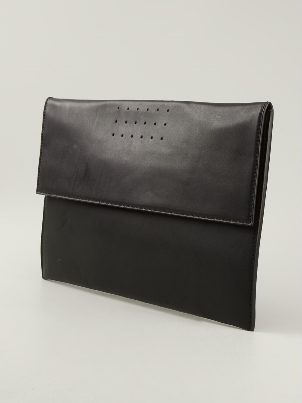 Rick owens Large Clutch Bag in Black | Lyst