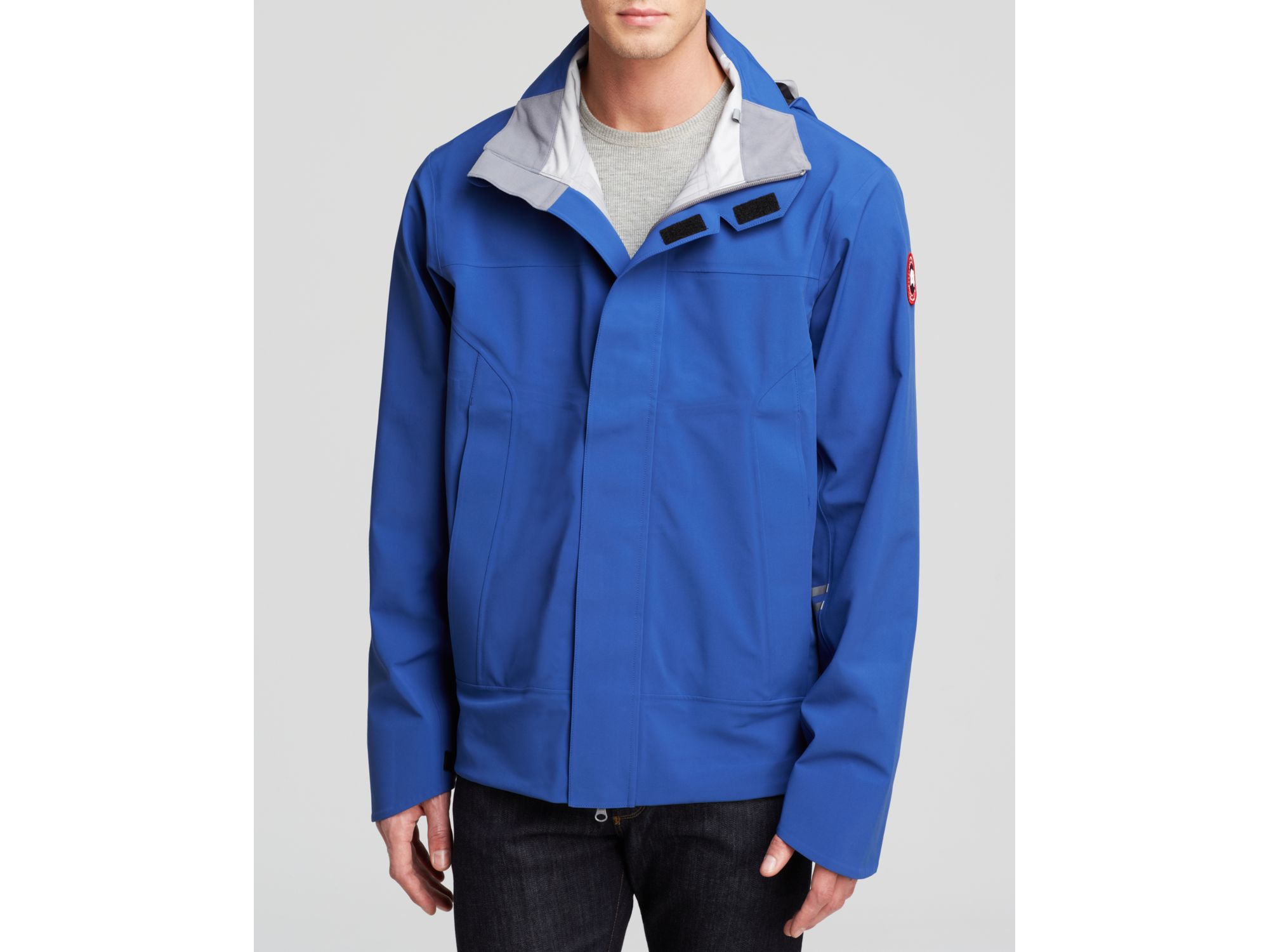 Canada Goose kensington parka outlet price - Canada goose Ridge Shell Jacket in Blue for Men (Pacific Blue/Mid ...