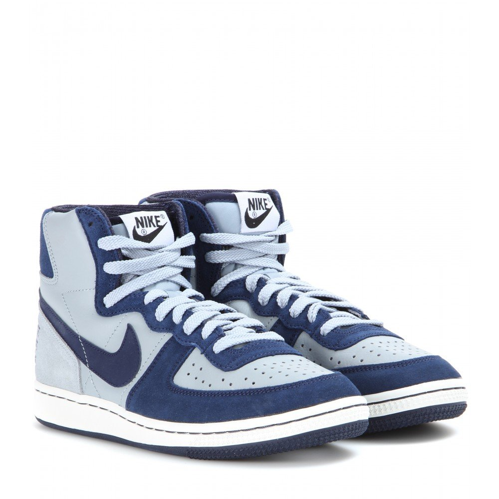 Lyst - Nike Terminator High Vintage Sneakers in Blue