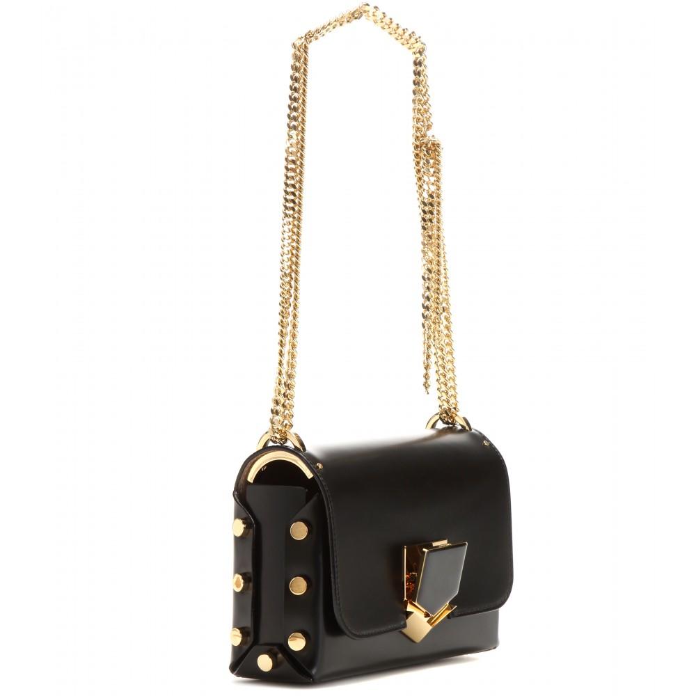 Lockett Petite leather shoulder bag Jimmy Choo London GqenvCHQe