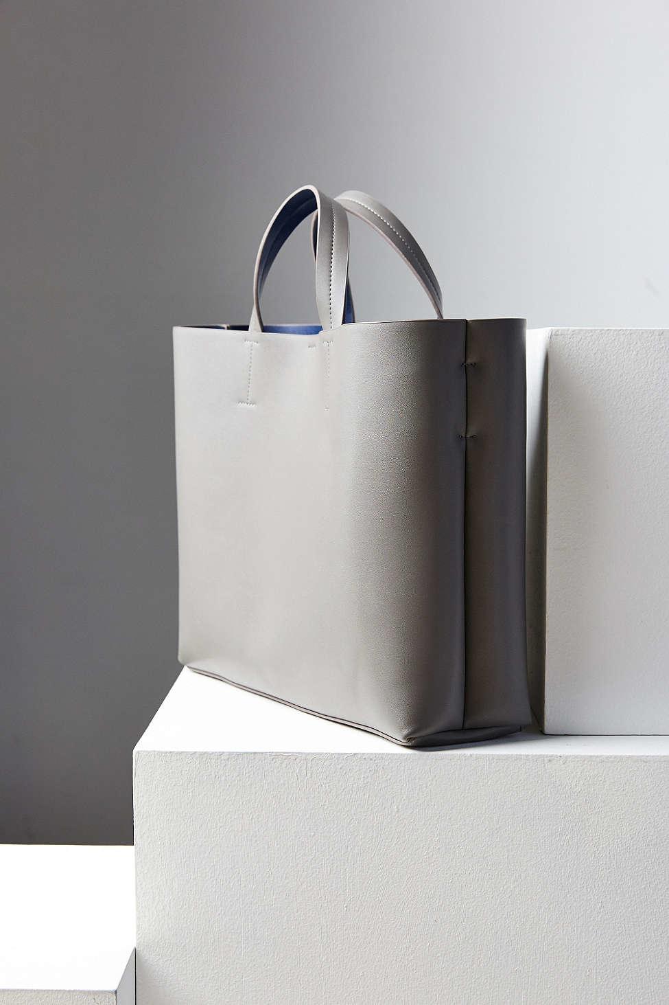 Silence   noise Jule Oversized Tote Bag in Gray | Lyst