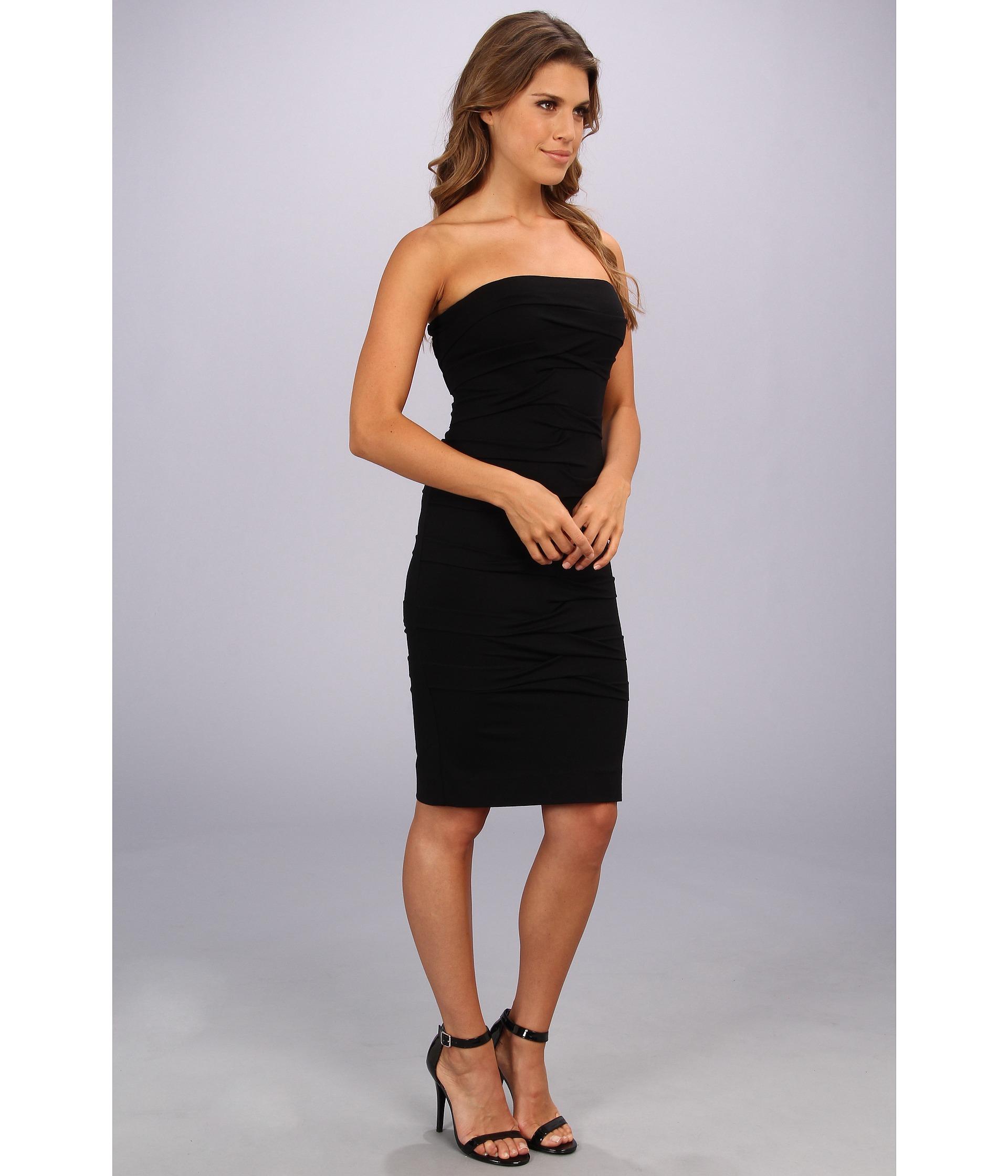 Nicole Miller Tidal Tube Dress in Black   Lyst - photo#8