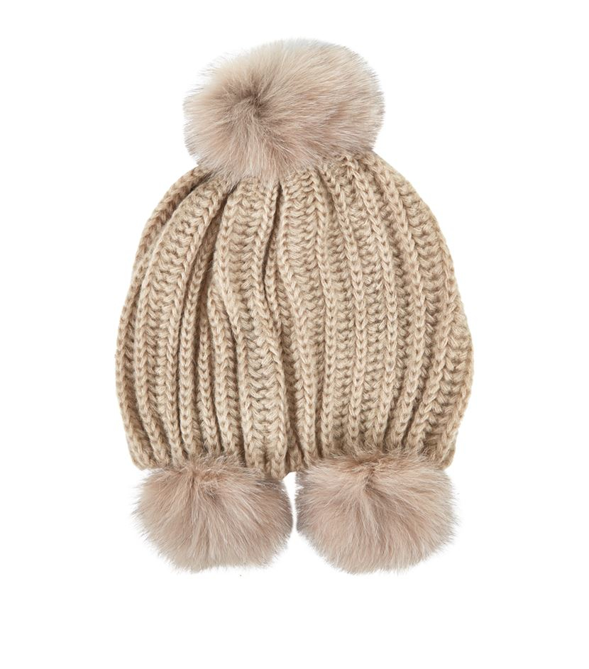 Clearance Amazing Price Best Place For Sale Max Mara pompom beanie Free Shipping Perfect yc7izF
