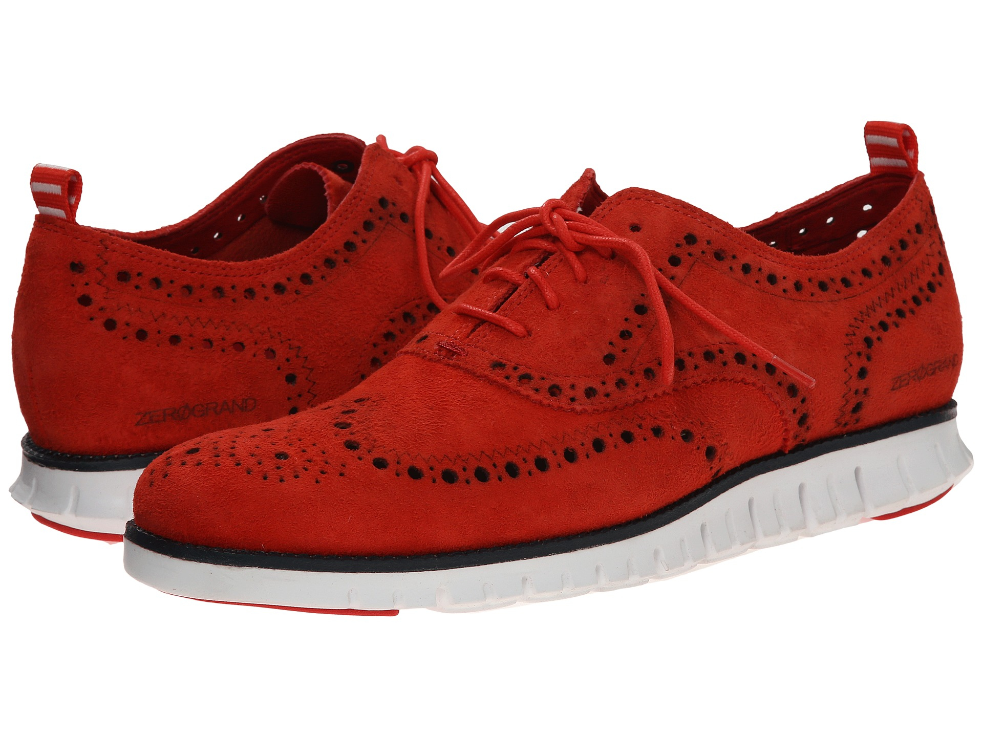 f0b5e8ba7b Cole Haan Zerogrand Wing Ox in Red for Men - Lyst