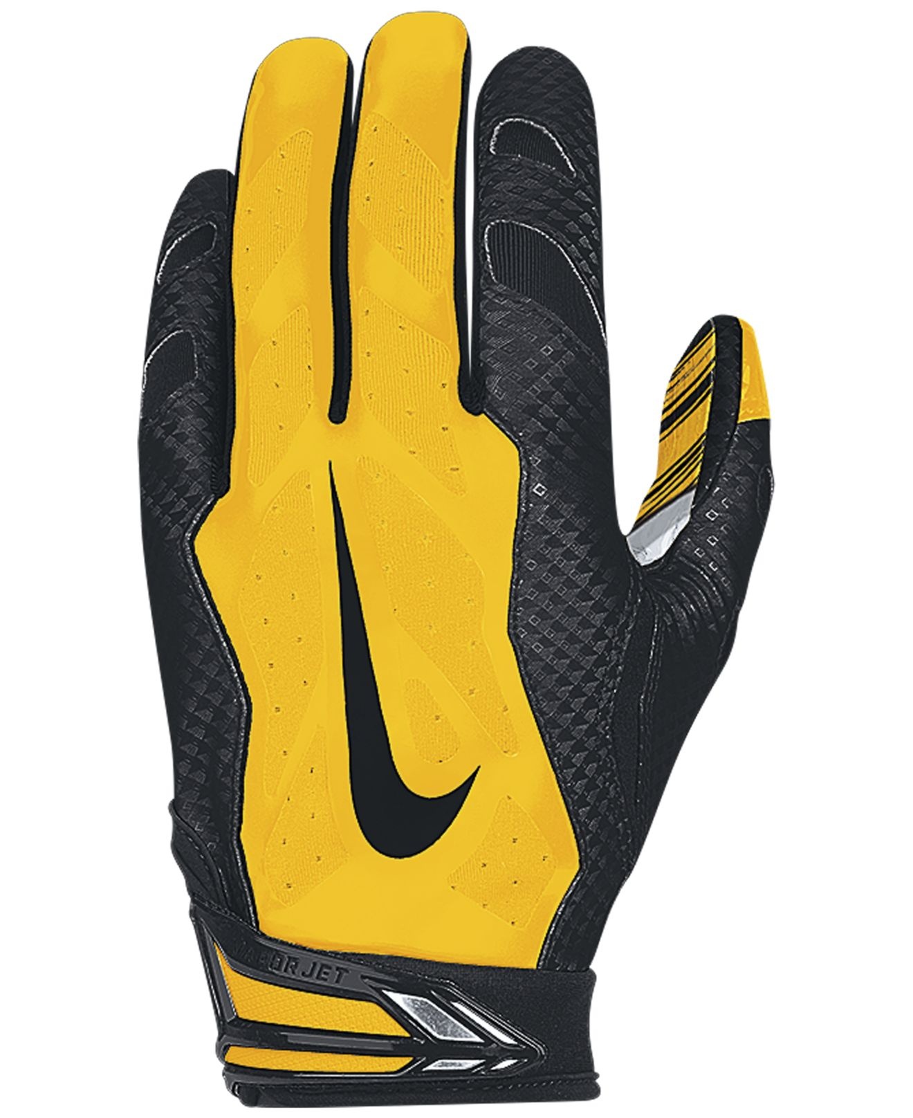 Nike Football Gloves: Nike Pittsburgh Steelers 30 Vapor Jet Gloves In