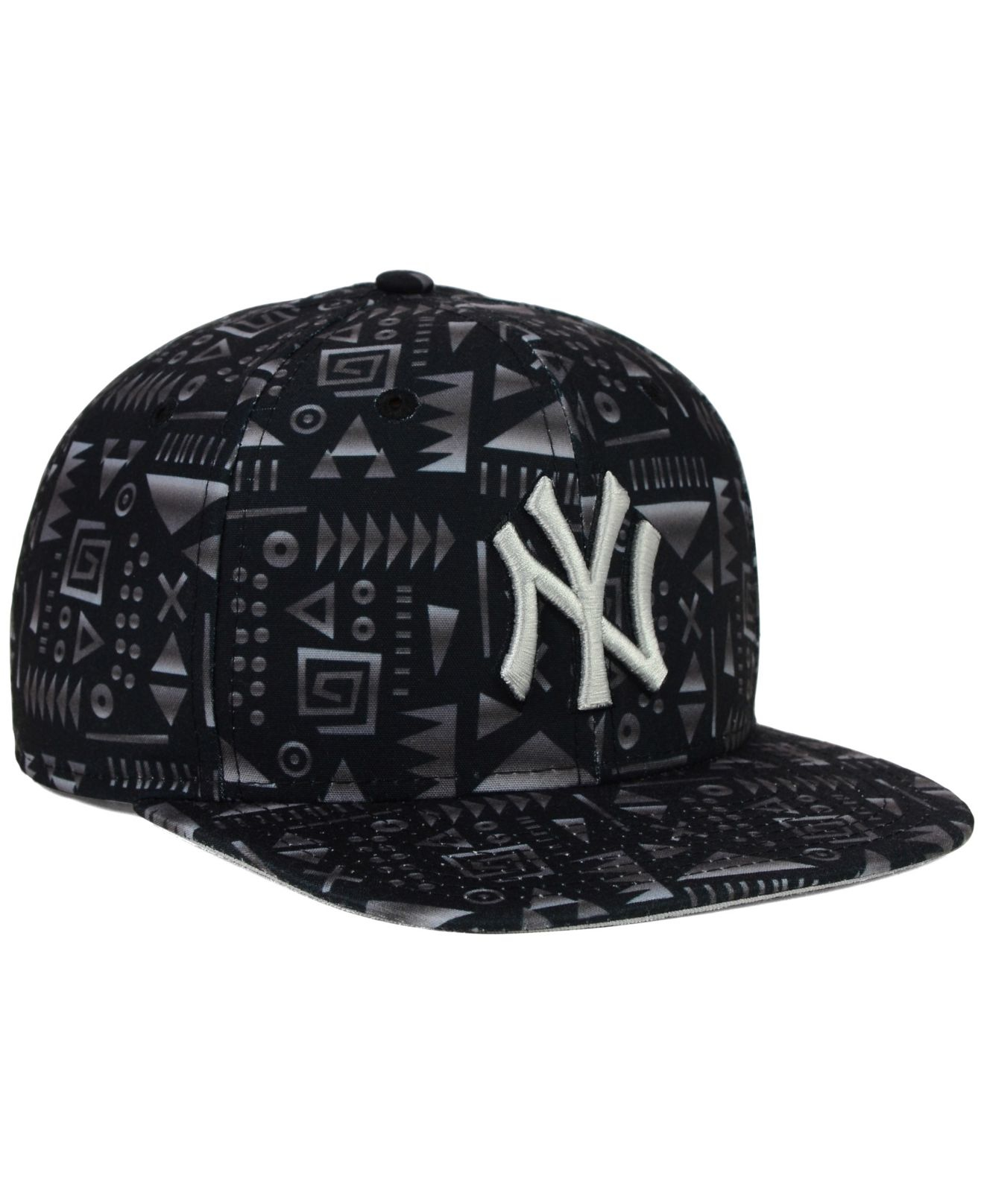 9aa9c440b11 ... new zealand lyst ktz new york yankees geo 9fifty snapback cap in black  for men 53842