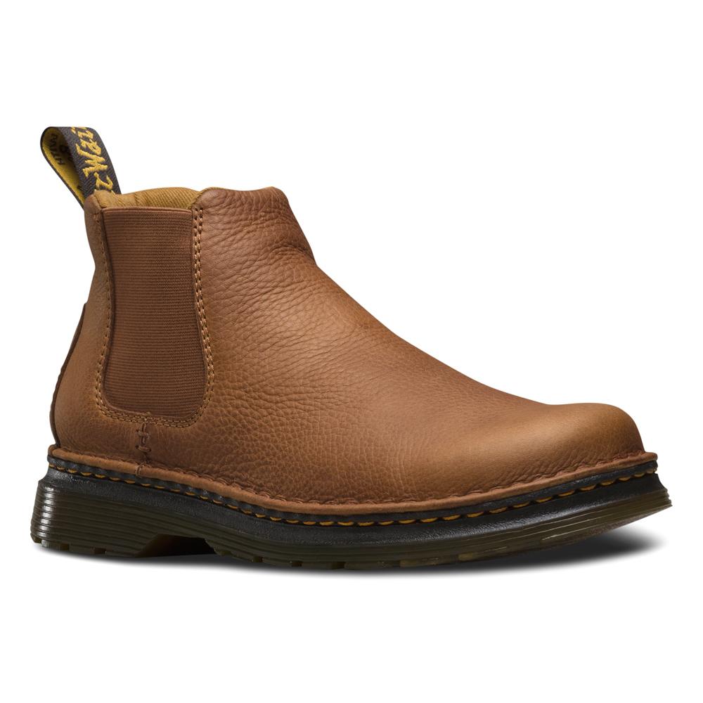 dr martens oakford chelsea boot in brown for men lyst. Black Bedroom Furniture Sets. Home Design Ideas