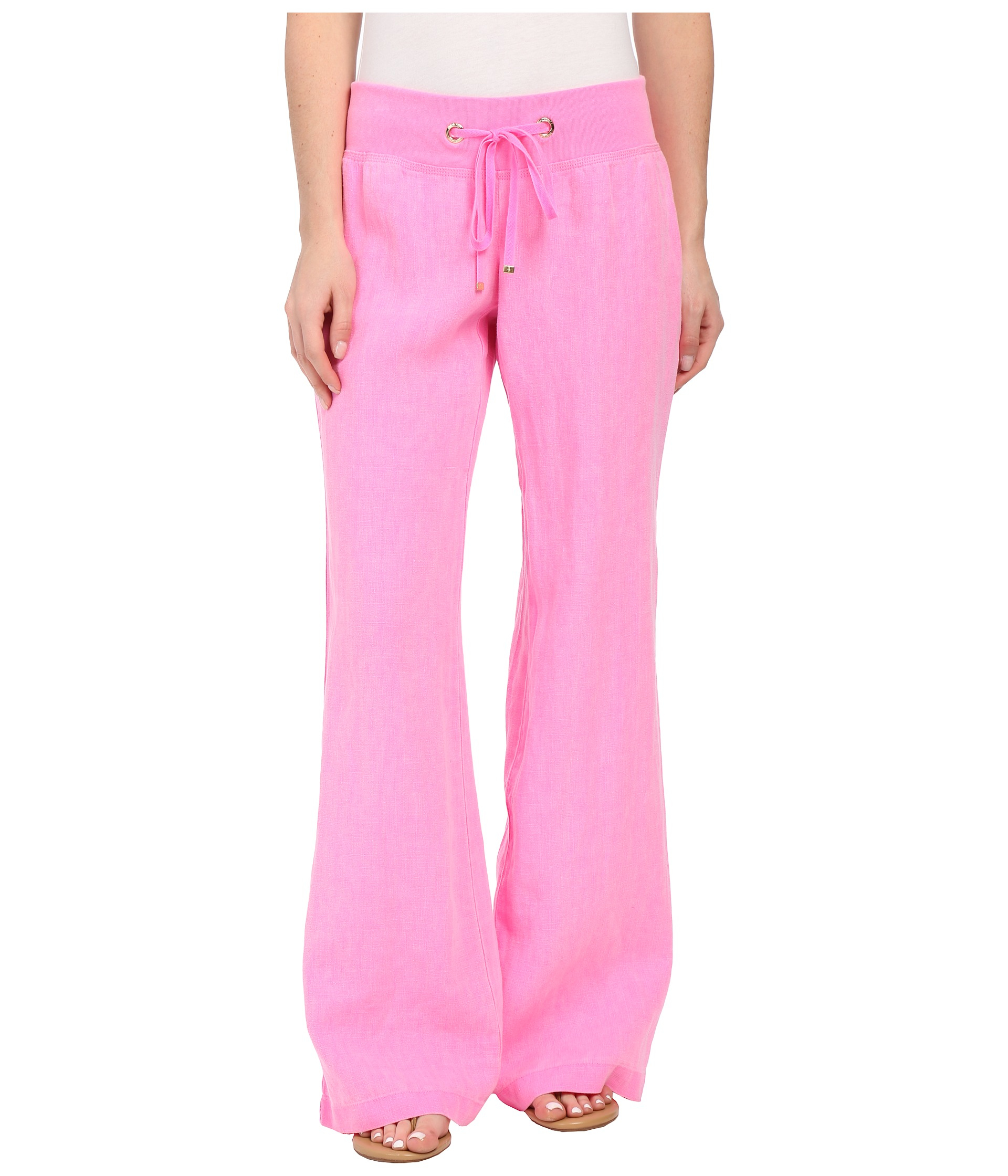 518b0a0b8f Lilly Pulitzer Beach Pant in Pink - Lyst