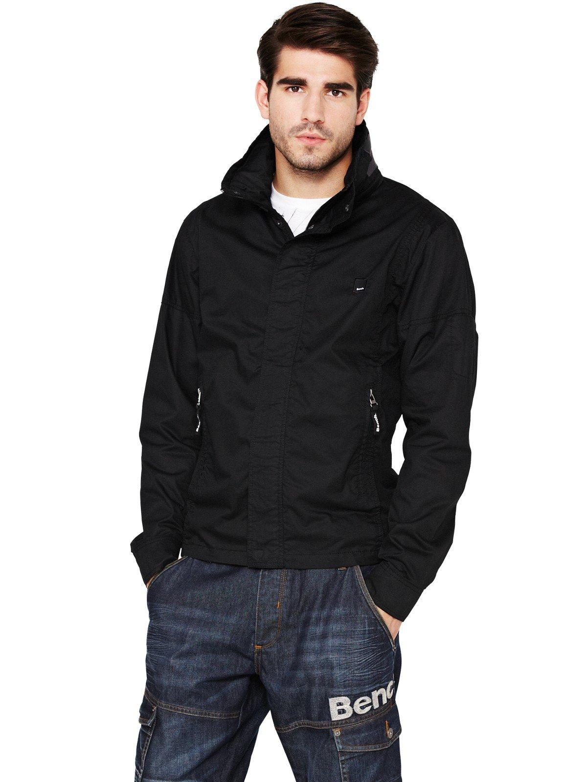 Bench Bench Mens Logo Jacket In Black For Men Lyst