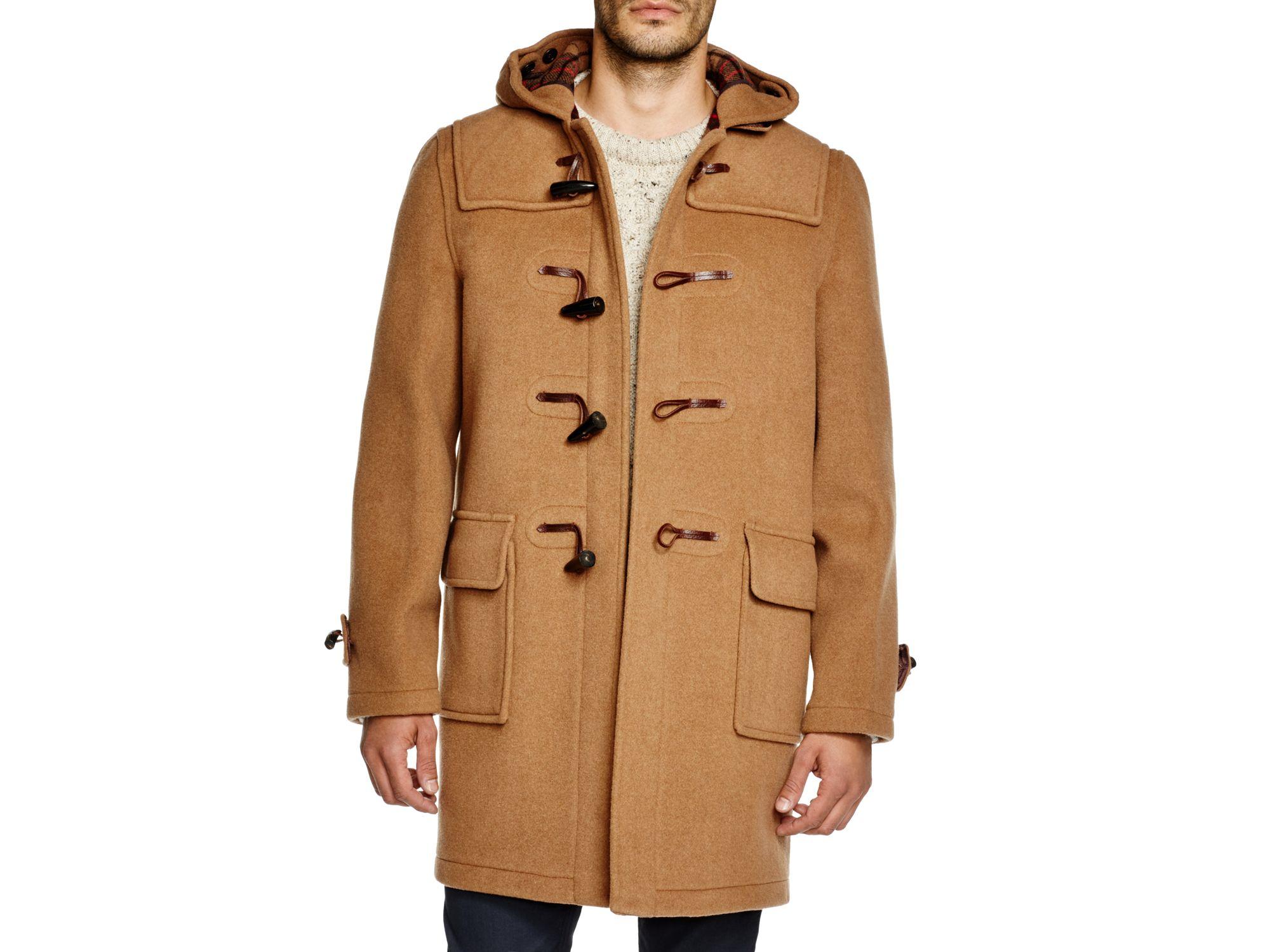 Gloverall Morris Duffle Coat in Natural for Men | Lyst