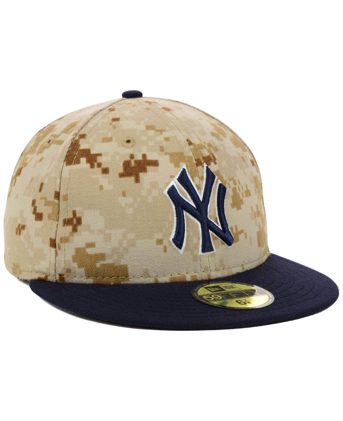 Lyst - KTZ New York Yankees 2014 Stars And Stripes 59fifty Cap in ... cd001328cbc