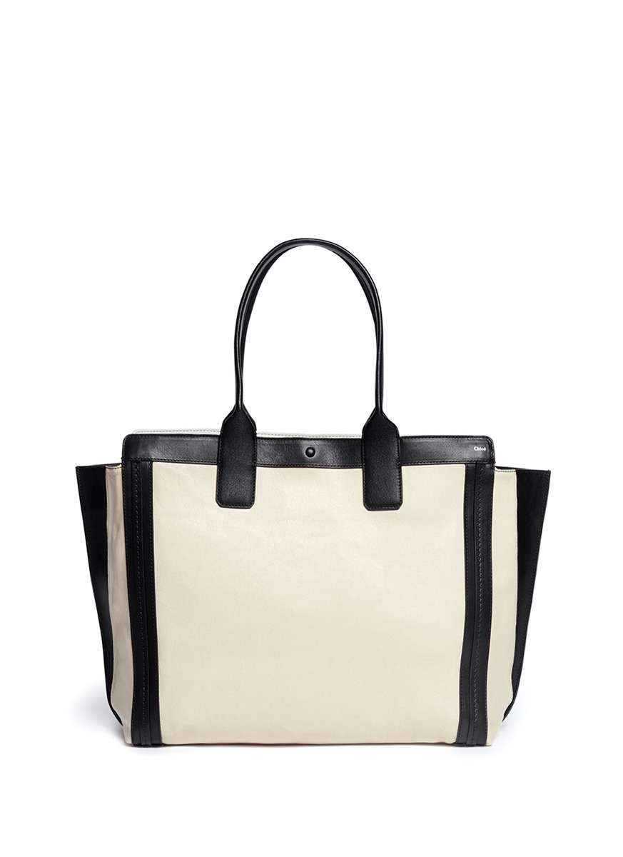 see by chloe replica - chloe leather alison tote, chloe purse