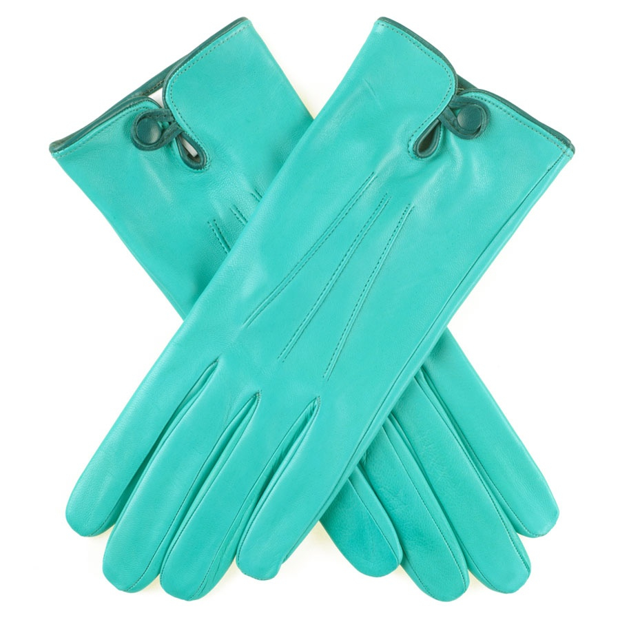 Womens leather gloves teal - Black Co Uk Turquoise And Teal Leather Gloves Description Delivery