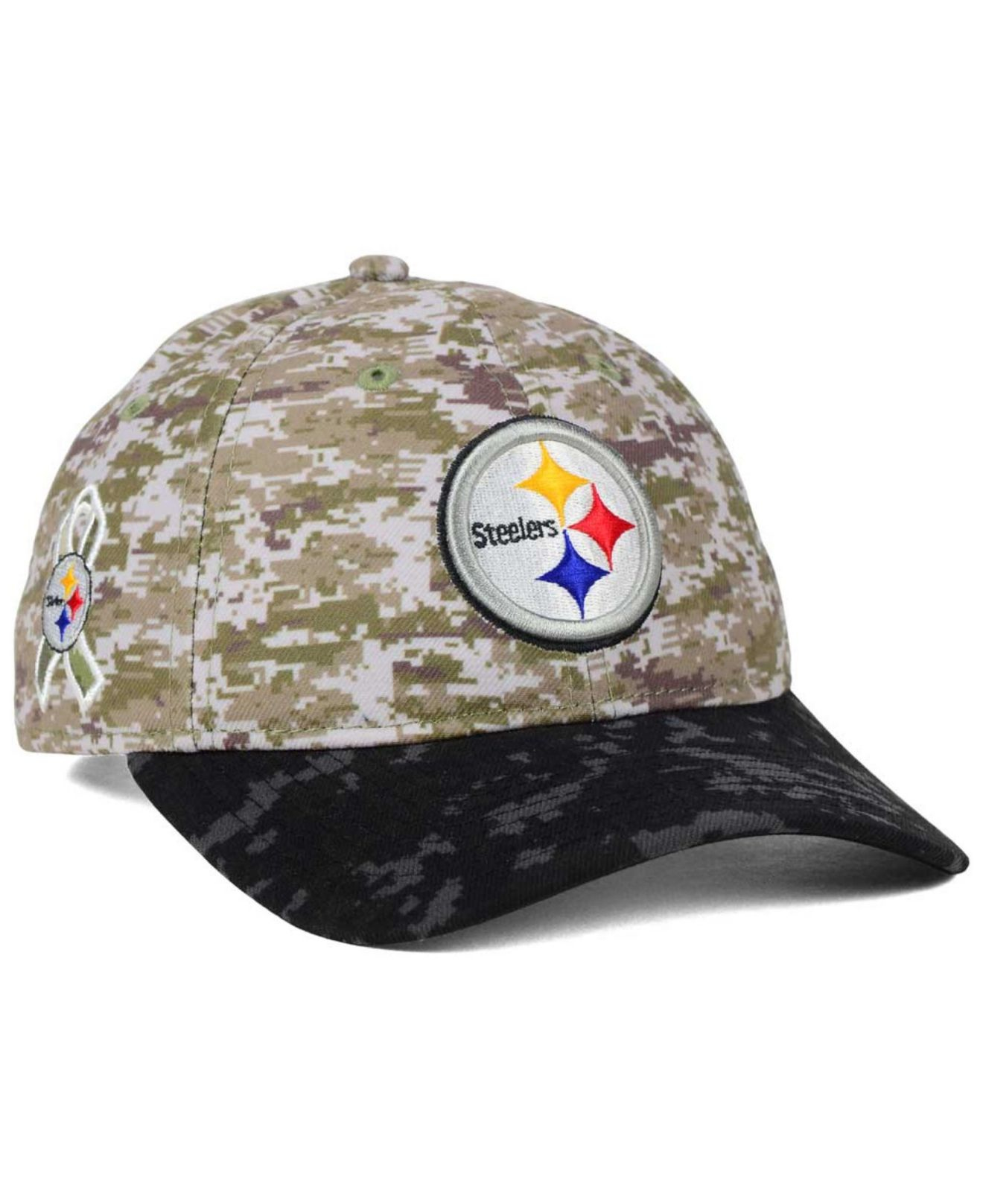 Lyst - Ktz Women s Pittsburgh Steelers Salute To Service 9twenty Cap ... ae8bc8e4d585
