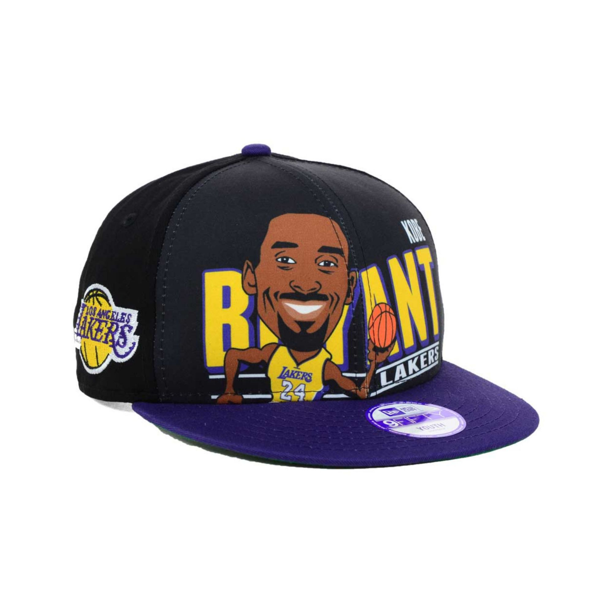 Lyst - KTZ Kids Kobe Bryant Los Angeles Lakers Player 9fifty ... e3255129549d