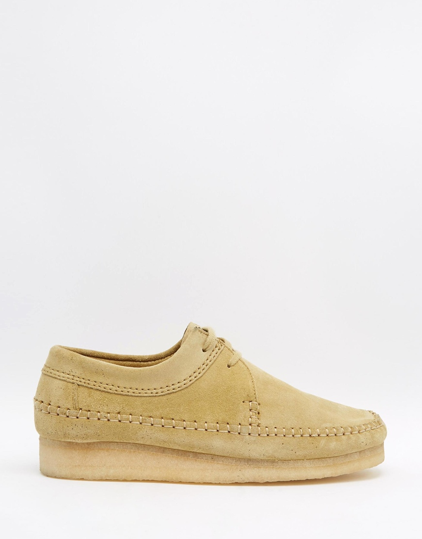 Lyst Clarks Suede Clarks Original Weaver Suede Clarks Schuhes in Braun for Men f43e31