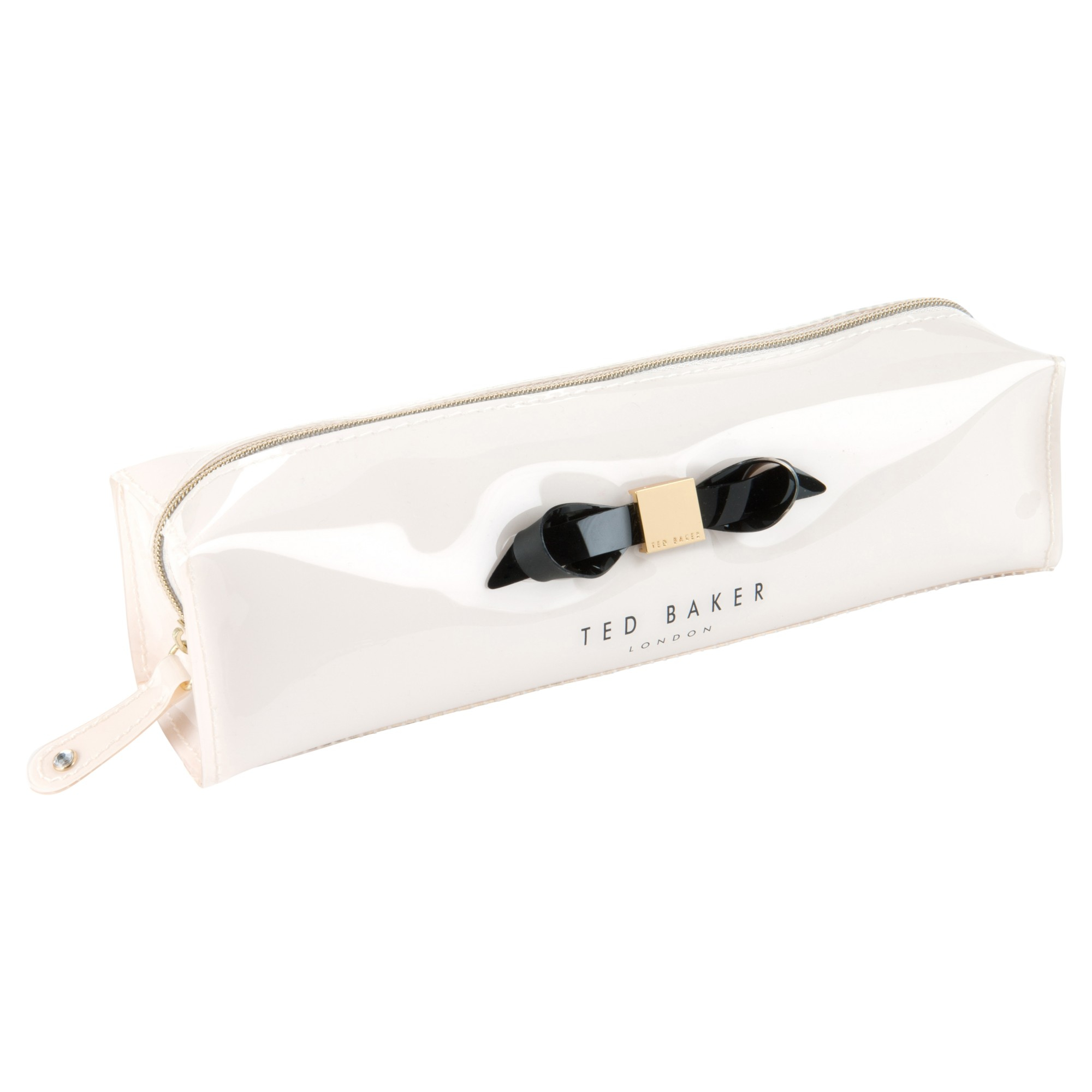79c3239605f3e Ted Baker Britni Bow Pencil Case in White - Lyst