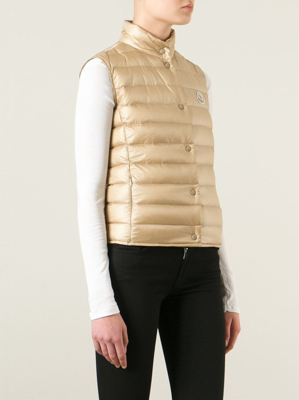 Moncler 'Liane' padded gilet Sale Huge Surprise WQSQOatpxN