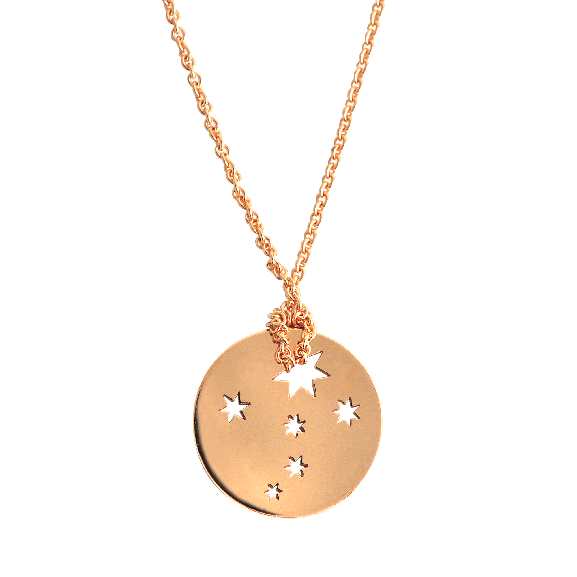 ginette ny mini milky way necklace in gold lyst. Black Bedroom Furniture Sets. Home Design Ideas