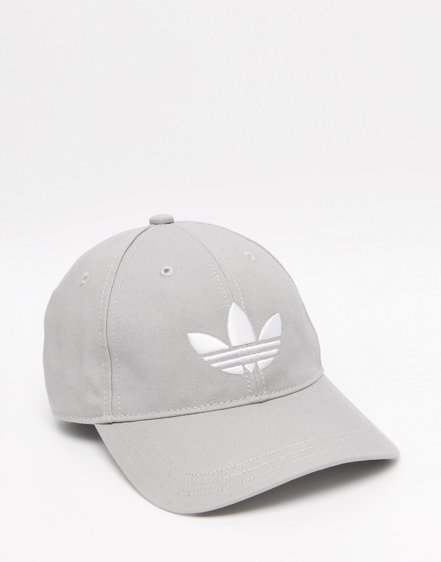 a7d46f5369d ... coupon code for adidas originals trefoil cap in grey in gray for men  lyst 86272 7e301