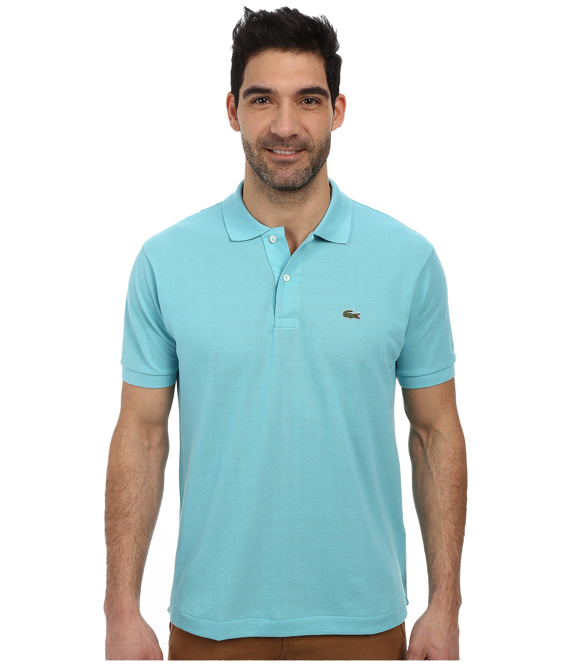 cec348681836 Lyst - Lacoste L1212 Classic Pique Polo Shirt in Blue for Men