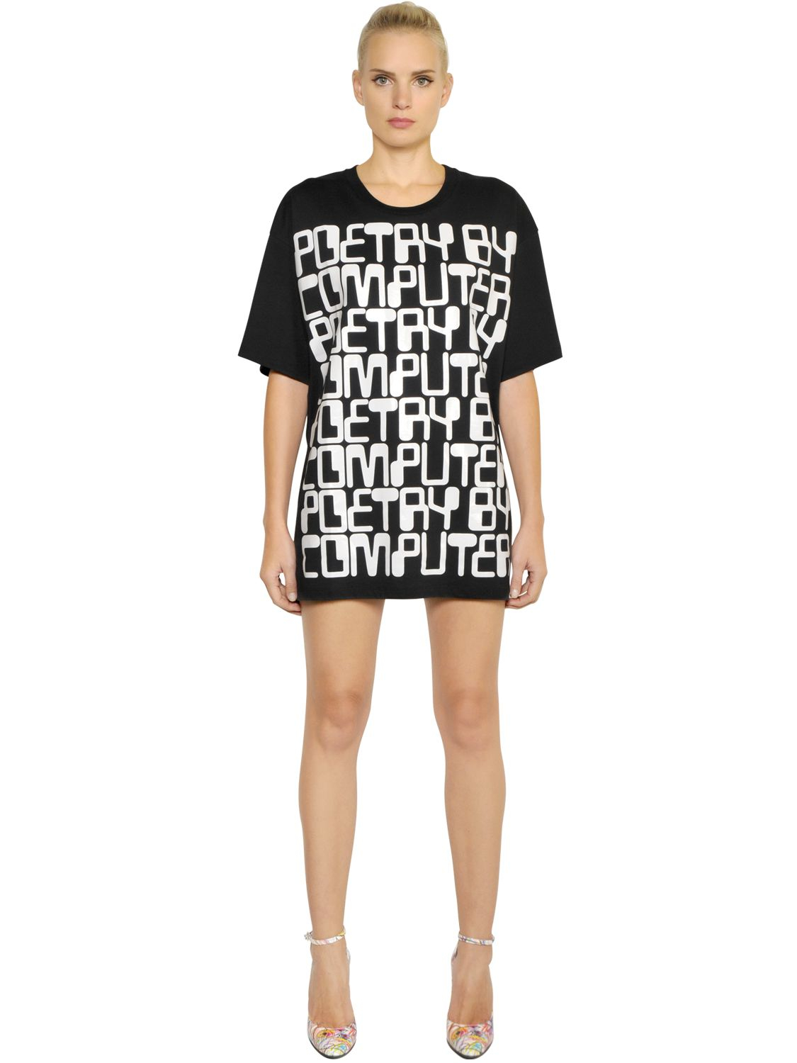 Black t shirt jersey dress - Gallery Previously Sold At Luisa Via Roma Women S T Shirt Dresses