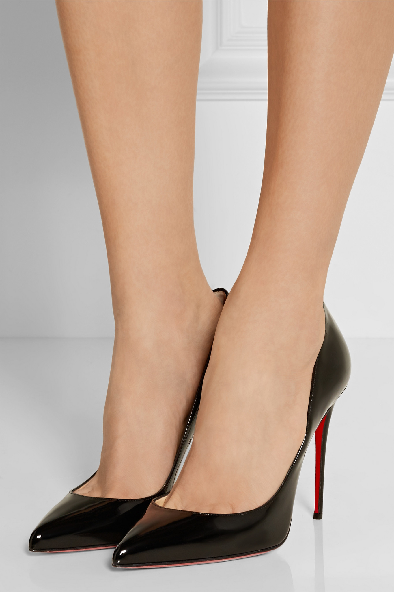 bde1966eca6e Christian louboutin Pigalle Follies 100 Patent-leather Pumps in .