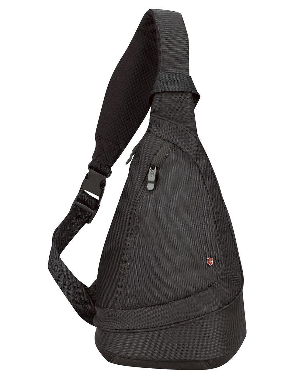 Victorinox Tear Drop Monosling Bag in Black for Men | Lyst